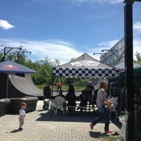 Photo taken at Skatepark Usmate - Bonassodromo by Micaela F. on 6/2/2013
