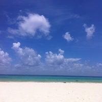 Photo taken at Playa Xaman-Ha by César Z. on 7/20/2013