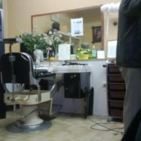 Photo taken at Coiffeur Jean by Benoit V. on 6/1/2013