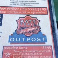 Photo taken at Katy Trail Ice House Outpost by Brandon T. on 8/2/2013
