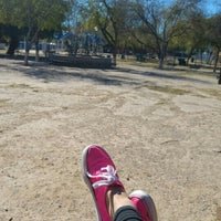 Photo taken at Parque Viveros by Aline V. on 12/28/2015