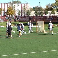 Photo taken at Barton Lacrosse Stadium by Gregory H. on 10/19/2013