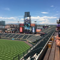 Photo taken at The Rooftop @ Coors Field by Gregory H. on 7/19/2017