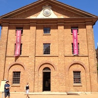 Photo taken at Hyde Park Barracks Museum by Lara R. on 12/23/2012