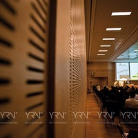 Photo taken at Centro Congressi by Yuri V. on 9/17/2012
