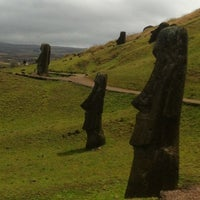 Photo taken at Easter Island by Gleiber R. on 9/19/2012