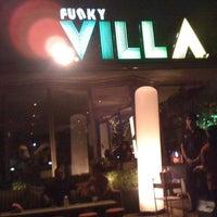 Photo taken at Funky Villa by tüttü k. on 3/1/2013