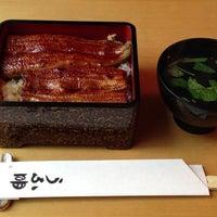 Photo taken at うな明 by Moritaka K. on 6/3/2013