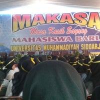 Photo taken at Universitas Muhammadiyah Sidoarjo by Sayyidatul I. on 9/6/2014