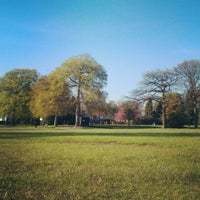 Photo taken at Platt Fields Park by Ryan B. on 5/2/2013