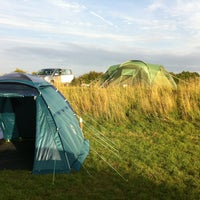 Photo taken at Mousley House Farm campsite by Steve K. on 8/24/2013
