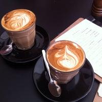 Photo taken at Base Espresso by Adam F. on 10/11/2013