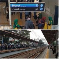 Photo taken at Stasiun Cawang by Sur A. on 6/13/2017