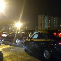 Photo taken at Stadium Nasional Bukit Jalil Car Park by Che R. on 12/9/2012