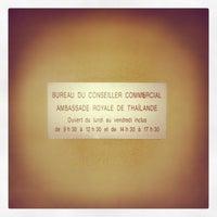 Photo taken at Ambassade Royale de Thaïlande by Kuroluis G. on 12/28/2012