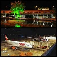 Photo taken at Aeroporto Internacional de Manaus / Eduardo Gomes (MAO) by Douglas T. on 6/4/2013