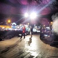 Photo taken at Parc des Exposition de St-Paul by Laurent E. on 3/8/2014