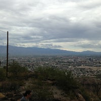 Photo taken at Tumamoc Hill by Lu G. on 9/8/2013