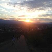 Photo taken at Tumamoc Hill by Lu G. on 7/14/2013