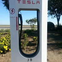 Photo taken at Tesla Supercharger Station by Joey M. on 8/3/2013
