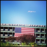Photo taken at LaGuardia Airport (LGA) by Giovanni I. on 9/8/2013