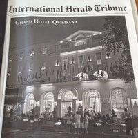 Photo taken at Quisisana Grand Hotel by Giovanni I. on 10/5/2012
