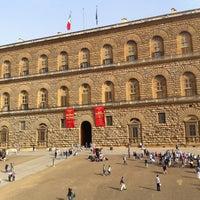 Photo taken at Pitti Palace by Irene M. on 4/30/2013