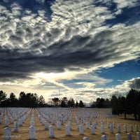 Photo taken at Fort Logan National Cemetery by Wolf S. on 1/30/2013