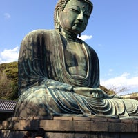 Photo taken at Great Buddha of Kamakura by KAMI52 on 4/30/2013