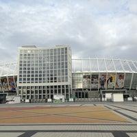 Photo taken at Olimpiyskiy Stadium by Mesha on 9/5/2013