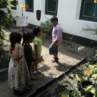 Photo taken at Tumbuh Primary School by Anom B. on 9/25/2012