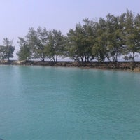 Photo taken at Pulau Tidung by Ivonne N. on 5/6/2013