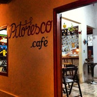 Photo taken at Pitoresco - Arte & Café by Guilherme L. on 9/14/2012