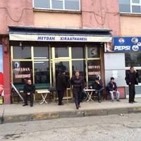 Photo taken at Meydan Kıraathanesi by Özkan K. on 2/24/2014