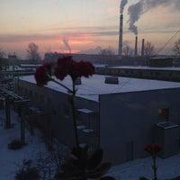 Снимок сделан в Бизнес Парк на Цветочной 18 пользователем АлЬбин@ К. 1/29/2014