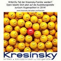 Das Foto wurde bei Kresinsky - brillen.kontaktlinsen.hörgeräte GmbH & Co. KG von Andy S. am 10/1/2013 aufgenommen