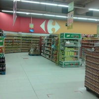 Photo taken at Carrefour by Andreano Q. on 5/11/2013