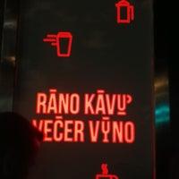 Photo taken at Ráno Kávu Večer Víno by Olga K. on 9/24/2016