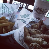 Photo taken at Wingstop by Ness V. on 11/6/2014