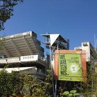 Foto tirada no(a) Jardins de Roland Garros por Kenneth T. em 9/16/2012