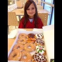Photo taken at Krispy Kreme by Chris L. on 10/11/2014