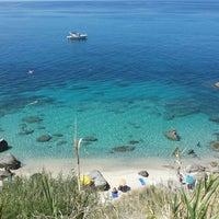 Photo taken at Spiaggia Michelino by Giorgia on 8/24/2015