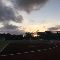 Photo taken at Ranong Province Stadium by iPünch on 5/31/2015
