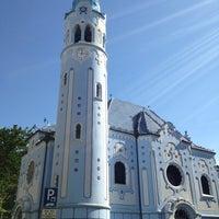 Photo taken at Kostol sv. Alžbety (The Blue Church) by 🇷🇺🐝Natalia F🐝🇷🇺 on 7/3/2013