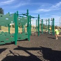 Photo taken at Cypress Street Field Playground by 🇷🇺🐝Natalia F🐝🇷🇺 on 9/28/2014