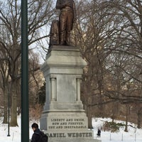 Photo taken at Statue of Daniel Webster by 🇷🇺🐝Natalia F🐝🇷🇺 on 2/1/2015