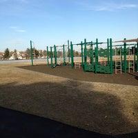 Photo taken at Cypress Street Field Playground by 🇷🇺🐝Natalia F🐝🇷🇺 on 3/8/2014