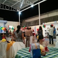 Photo taken at Brincadeiro buffet by Fred R. on 10/6/2013