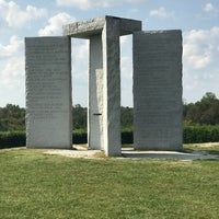Photo taken at Georgia Guidestones by Grace D. on 9/23/2017