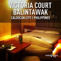 Photo taken at Victoria Court Balintawak by Omar P. on 4/17/2013